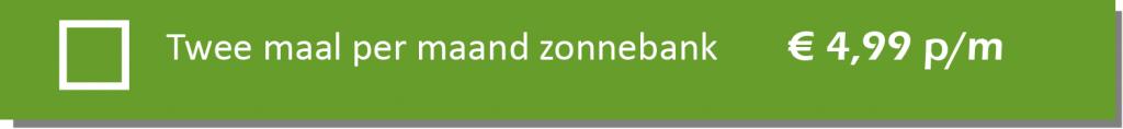 Optie-Zonnebank